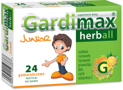 Gardimax Junior pastyl.do ssania. 16pastyl.