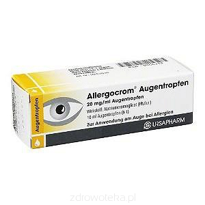 ALLERGOCROM KROPLE DO OCZU 20MG/ML 10 ML
